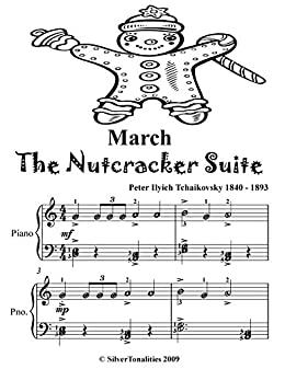 March The Nutcracker Suite Easy Piano Sheet Music Tadpole