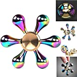 AMILIFE EDC Fidget Spinner High Speed Stainless Steel...