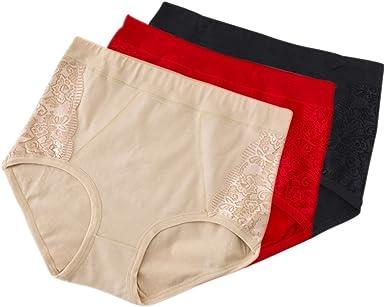 DAZISEN Bragas Mujer Lencería Cintura Alta - Cómodo Panty Embarazada Elasticidad Algodón Hipster Panties: Amazon.es: Ropa y accesorios