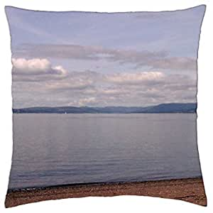 Calm sea - Throw Pillow Cover Case (18