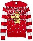 Pokemon Men's Pokemon Ugly Christmas Sweater, red/black, Large - Best Reviews Guide