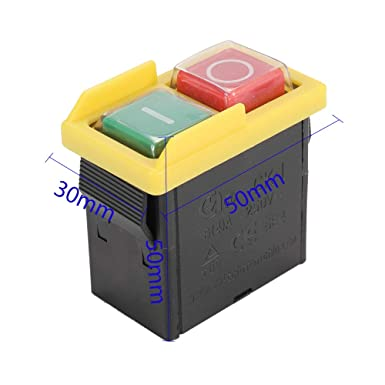 KAO5 220//380V 10A Inter-Bloqueo I//O Interruptor para Herramienta De M/áquina