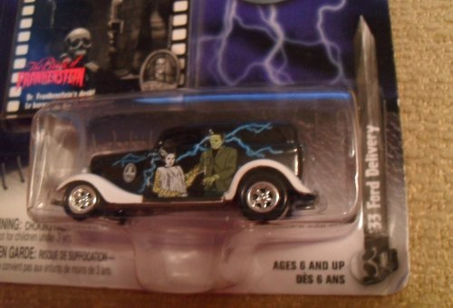 Johnny Lightning  33 ford delivery the bride of frankenstein authentic film reproduction