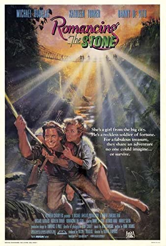 Amazon.com: Romancing The Stone Poster Movie (27 x 40 Inches - 69cm x  102cm) (1984): Posters & Prints