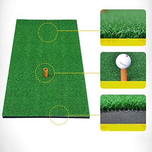 - Maserfaliw Indoor Outdoor Golf Practicing Training Tee Hitting Mat Pad Free Ball Tray