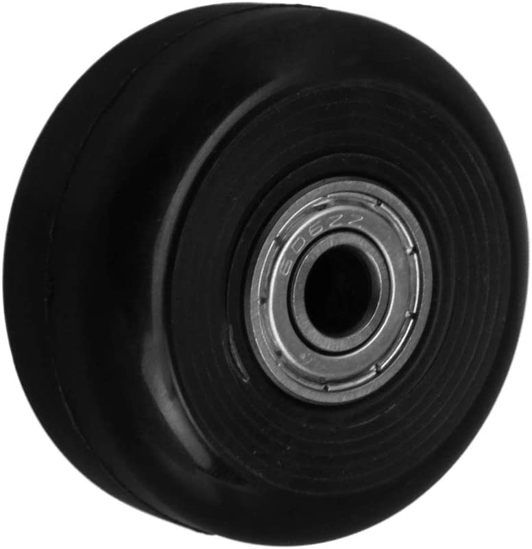 Mxfans Luggage Suitcase Replacement Wheels for Universal Wheel Replace 36x18mm
