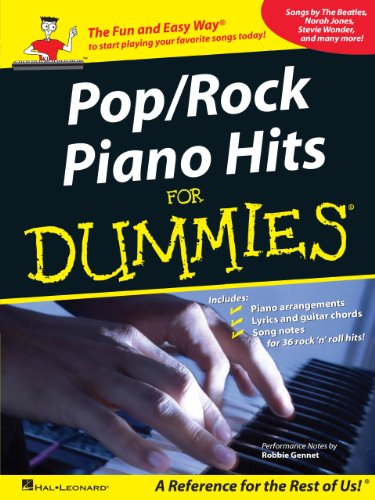 pop-rock-piano-hits-for-dummies-a-reference-for-the-rest-of-us