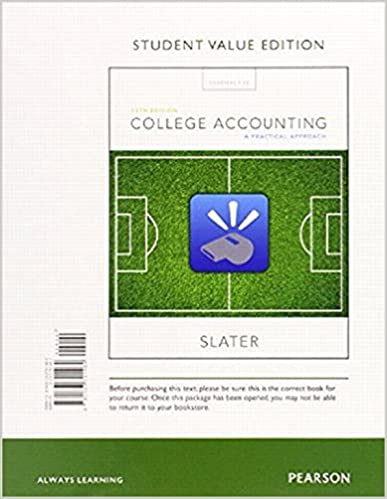 Amazon college accounting a practical approach student value college accounting a practical approach student value edition plus mylab accounting with pearson etext access card package 13th edition 13th edition fandeluxe Images