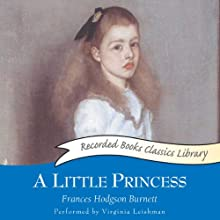 A Little Princess Audiobook by Frances Hodgson Burnett Narrated by Virginia Leishman