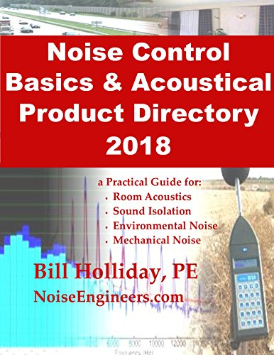 Noise Control Basics & Acoustical Product Directory 2018: a Practical Guide for: Room Acoustics, Sound Isolation, Environmental Noise, Mechanical ()