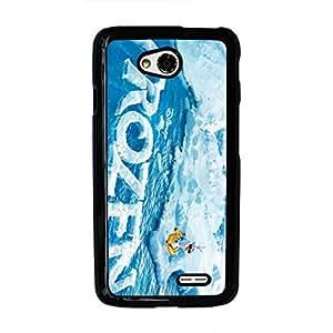 Frozen Phone Case Disney Cartoon LG L70 Phone Case Cover Fashionable Black Phone Case Frozen LG L70 Phone Case 028