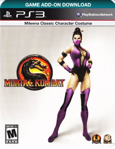 Mileena Classic Character Costume Download Code for Mortal Kombat [PlayStation 3] (Mileena Costume)
