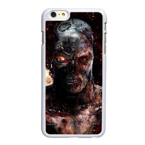 Q6K14 Terminator R4R5VV coque iPhone 6 4.7 pouces Cas de couverture de téléphone portable coque blanche SE6OJP2ZF