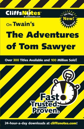 CliffsNotes on Twain's The Adventures of Tom Sawyer (Cliffsnotes Literature Guides) -