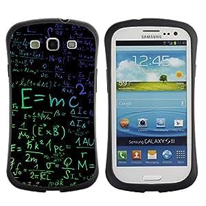 Suave TPU GEL Carcasa Funda Silicona Blando Estuche Caso de protección (para) Samsung Galaxy S3 I9300 / CECELL Phone case / / E=Mc2 Physics /