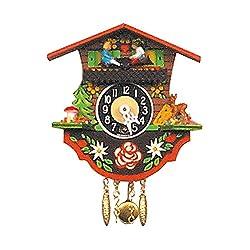 Alexander Taron Importer 110K Black Forest Chalet Clock