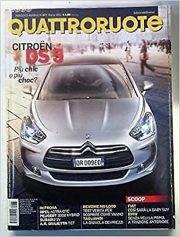 Amazon It Quattroruote N 677 Marzo 2012 Citroen Ds5 Opel Astra