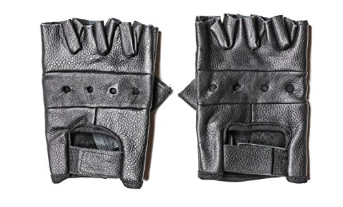 First Manufacturing Lightweight Basic Fingerless Gloves Heavy Duty (LARGE)]()