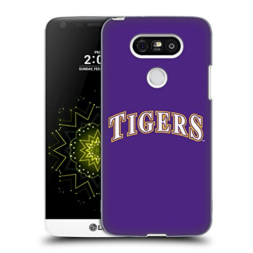 Louisiana State University Jersey - Official Louisiana State University LSU Baseball Jersey Hard Back Case Compatible for LG G5 / H850 / H840 / Dual