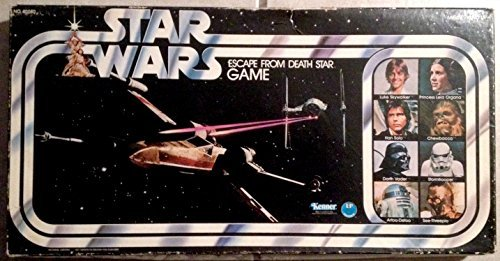 (Star Wars Escape From Death Star 1977 Board Game)