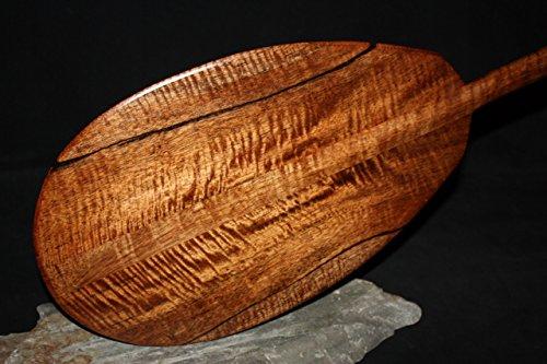 Premium Blonde Koa Paddle 60'' AAA Grade Steersman - Hawaii Made | #koab14 by TikiMaster