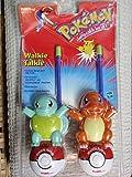Pokemon Walkie Talkie Set: Squirtle and Charmander
