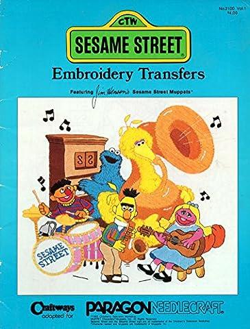 Sesame Street Embroidery Transfers (Sesame Street Cross Stitch)