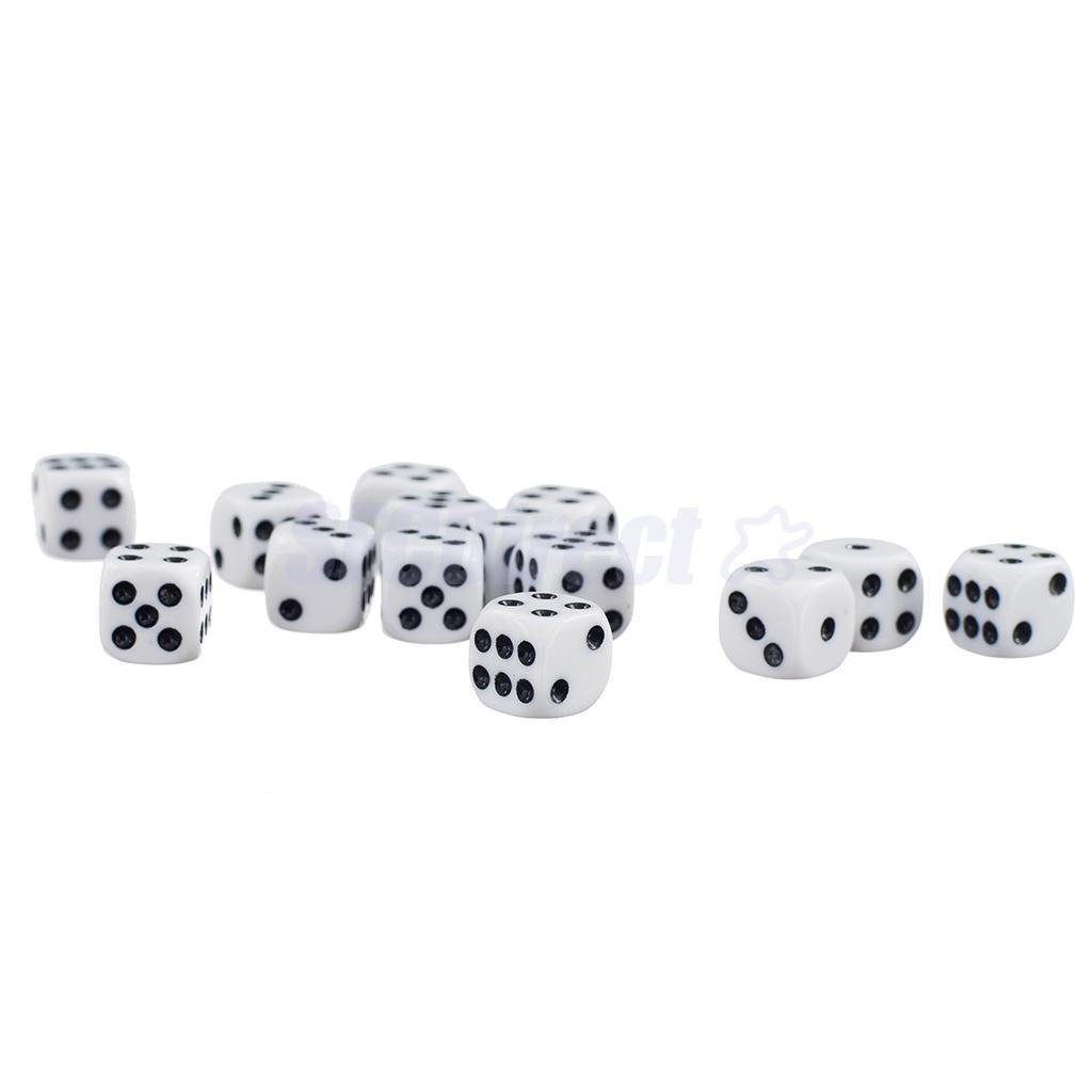 WARHAMMER 40K DND SIX SIDED SPOT DICE FOR BOARD GAMES 50 x 12mm DICE