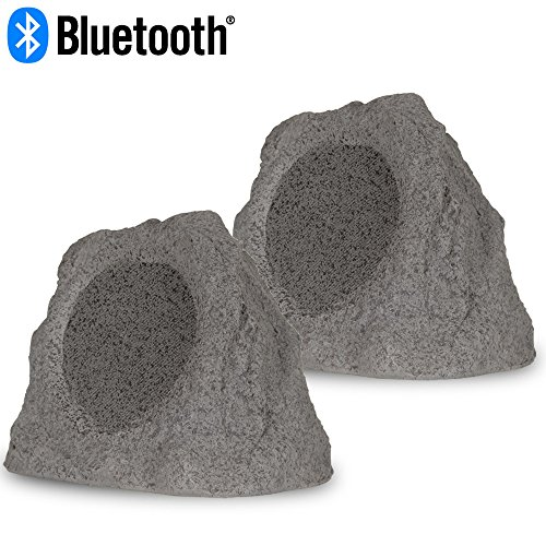 Theater Solutions RK8GBT Powered Bluetooth Outdoor Granite Grey 8