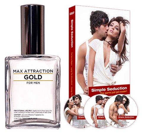 Or l'Attraction Max pour hommes séduction Kit - phéromones pour attirer les femmes et DVD Special Offer