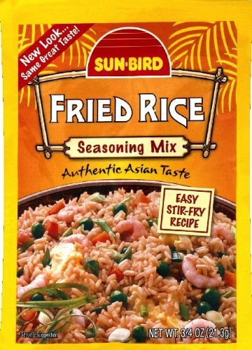 (Sunbird Fried Rice Mix, 0.75 Ounce, (Pack of 6) )