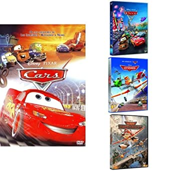 Pack Los Pixar Más Veloces Cars + Cars 2 + Aviones + Aviones Equipo De Rescate DVD: Amazon.es: Cine y Series TV