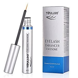 Eyelashes Growth Serum, Lash Enhancers, Eye Treatment Serums, Eyebrow Growth Serum, Eyelash Growth Enhancer & Brow Serum for Long, Luscious Lashes and Eyebrows (5ML)