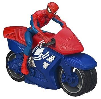 Spider man 78961 figurine spiderman movie vehicule - Spider man moto ...