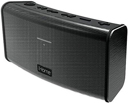 iHome Rechargeable Splash Proof Stereo Bluetooth Speaker Black IBT33BC