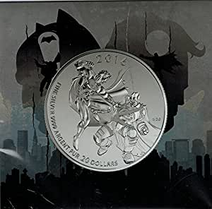 2016 $20 for $20 Fine Silver Coin - Batman v Superman: Dawn of Justice Royal Canadian Mint RCM