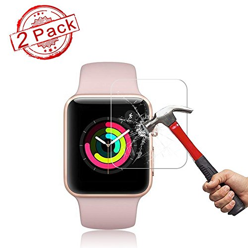 2 Pack Apple 42mm Watch Screen Protector (42mm Series 3/2/1