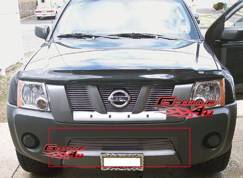APS Compatible with 2005-2008 Nissan Xterra Bumper Billet Grille Insert S18-A13466N ()