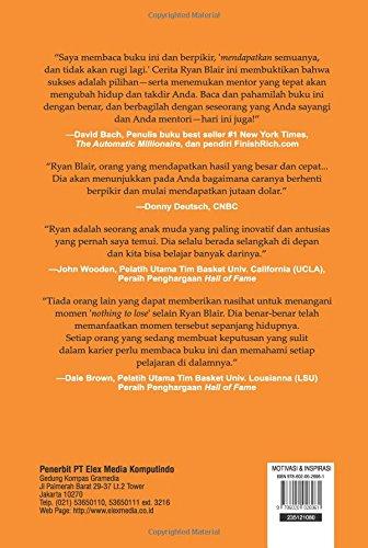 Nothing To Lose Everything To Gain Indonesian Edition Ryan Blair