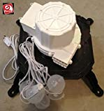 Gemmy Replacement Fan and Lights with Base - Model SJD-B2