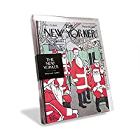 "The New Yorker Magazine Cover ""Subway Santa's"" Holiday Cards (Box of 8)"