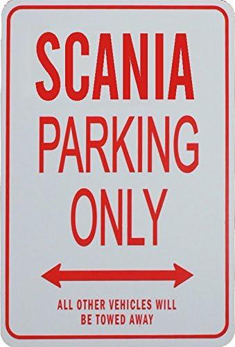 SCANIA Parkplatz nur Zeichen
