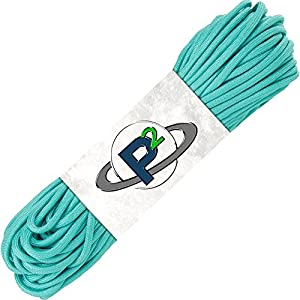 Paracord Planet Mil-Spec Commercial Grade 550lb Type III Nylon Paracord 10 feet Turquoise