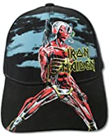 Iron Maiden Somewhere Back in Time Black Baseball Hat
