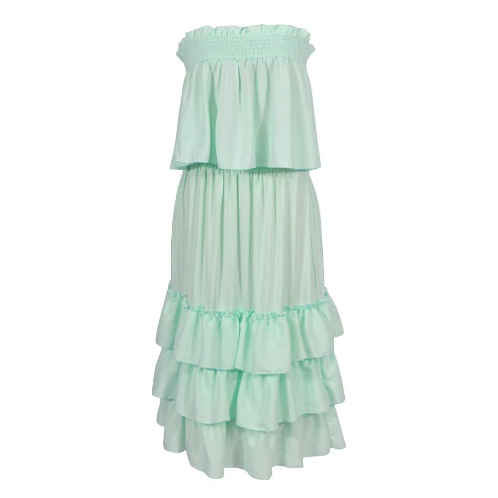Ohwens - Falda para Mujer, Top con Calavera sólida, diseño de ...