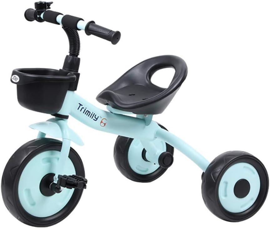 SSLC Triciclo Niño 2 EN 1 Triciclo para Niños Asiento Ajustable +18 Meses Pedales para Padres Triciclo de Empuje