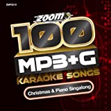 Zoom Karaoke MP3+G Disc - 100 Songs - Christmas & Piano Singalong [Card Walllet]