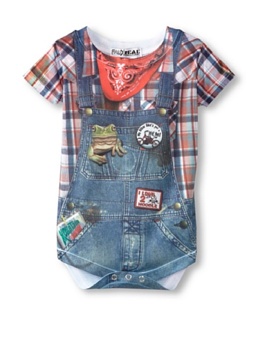 Infant: Hillbilly Costume Romper Infant Onesie Size 6 Mos