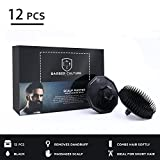 Scalp Brush, BETEZU Shampoo Brush Hair Brush Scalp Massager with Handle for Hair Growth in the Shower