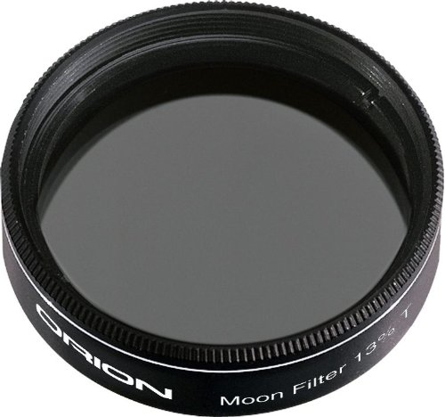 - Orion 05662 1.25-Inch 13 Percent Transmission Moon Filter (Black)